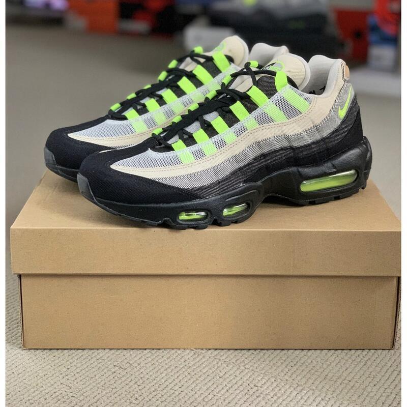 潮鞋之家☆ Denham x Nike Air Max 95 DD9519-001黑白綠 牛仔 預購