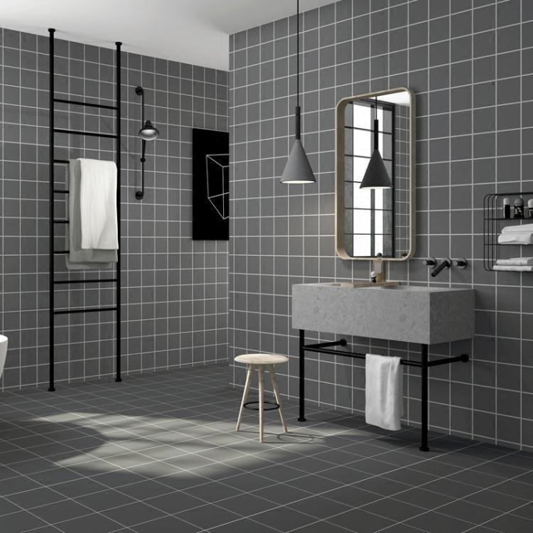 廚房墻紙自粘地板貼耐磨地貼墻貼浴室廁所衛生間瓷磚貼紙防水壁紙--Stone雜貨鋪