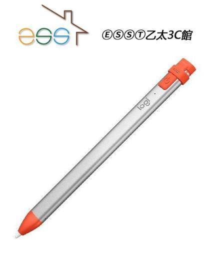 ⒺⓈⓈⓉ乙太3C館-羅技 Crayon-iPad 多功能數位筆 914-000038 適用於IPAD第六代⌛下標請詢問