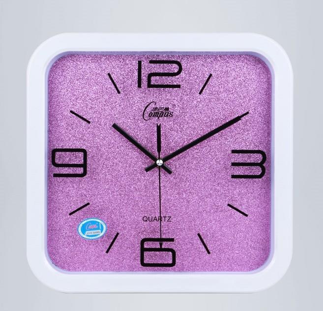 掛鐘創意時尚個性歐式簡約石英鐘靜音時鐘鐘表-開心購