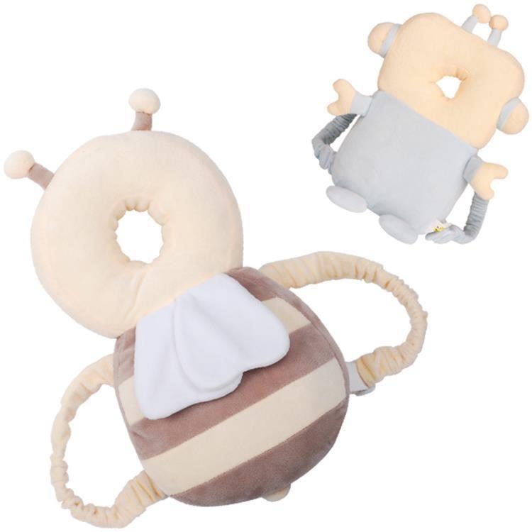 寶寶學步防摔護頭枕兒童走路防撞防后摔枕嬰兒頭部保護墊-開心購