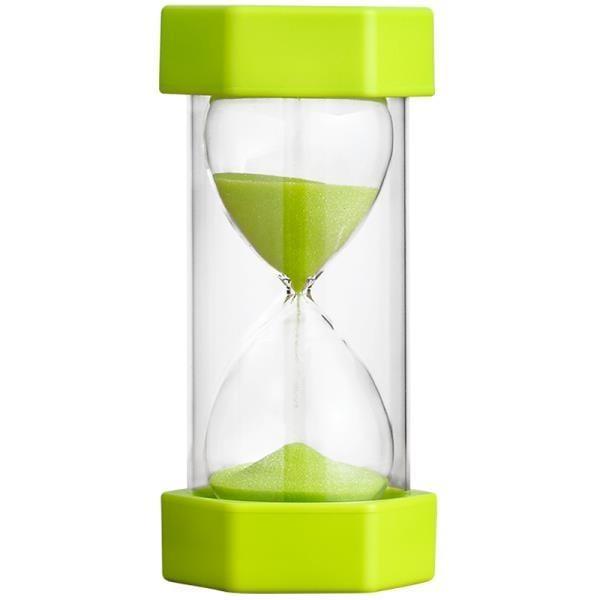 兒童沙漏計時器20/30/60分鐘時間半一小時漏斗防摔流沙瓶創意擺件-開心購