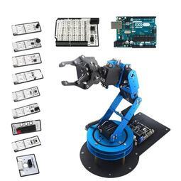 【樂意創客官方店】《附發票》LeArm Arduino 6軸 開源機械手臂 可編程程式機器人 二次開發單晶片 已組裝