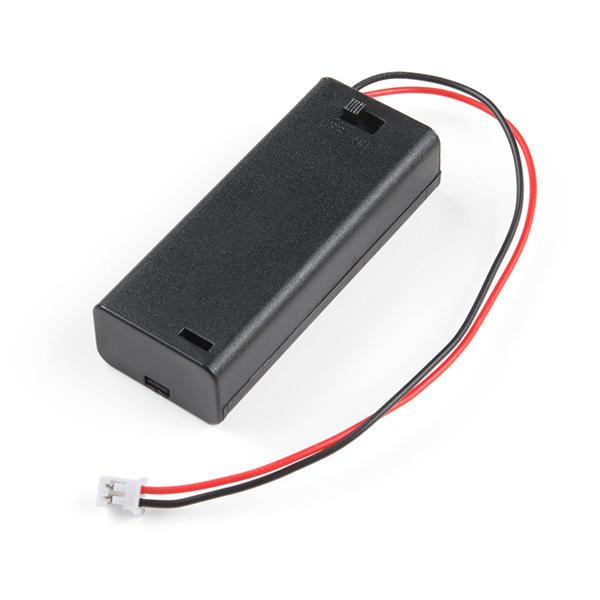 【樂意創客官方店】《附發票》4號AAA電池*2節 電池盒 micro bit適用 開關電池座3V JST-PH2.0端子