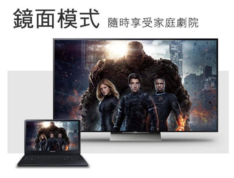 【DreamShop】原廠 USB TypeC轉HDMI轉換器(支援4K. MAC/WIN通用,三星 S8 鏡射)