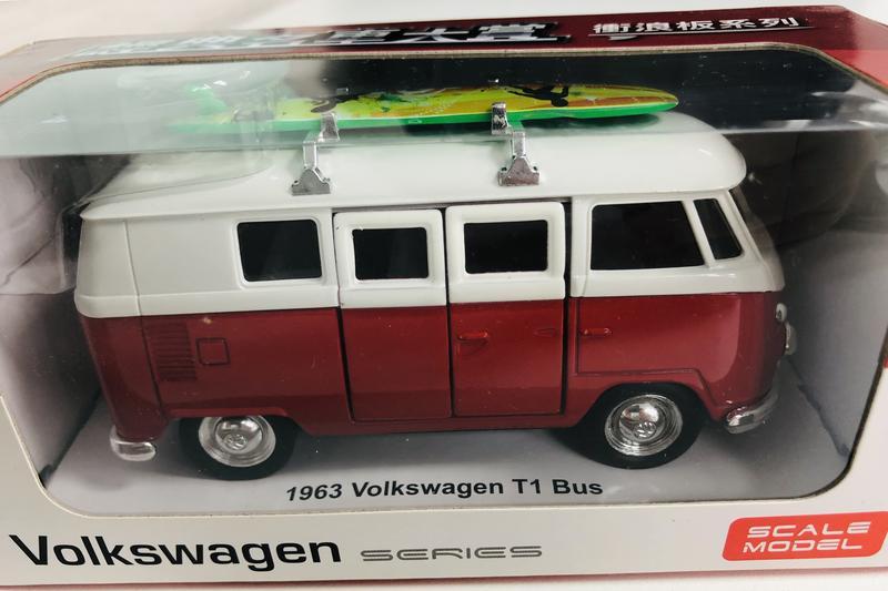 Volkswagen_Type 1_Microbus_等比例合金模型車