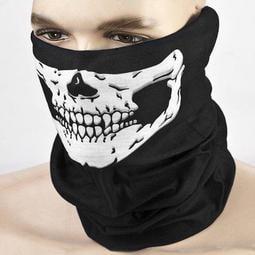 【暉長豪商行】骷髏面罩 酷炫頭巾 騎行面罩 騎行口罩 造型圍巾 造型脖圍 造型頭巾 防風面罩 防塵面罩 蒙面頭罩