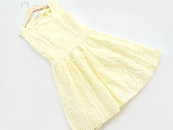 titty&Co 淡黃色小洋裝 ☆日本品牌