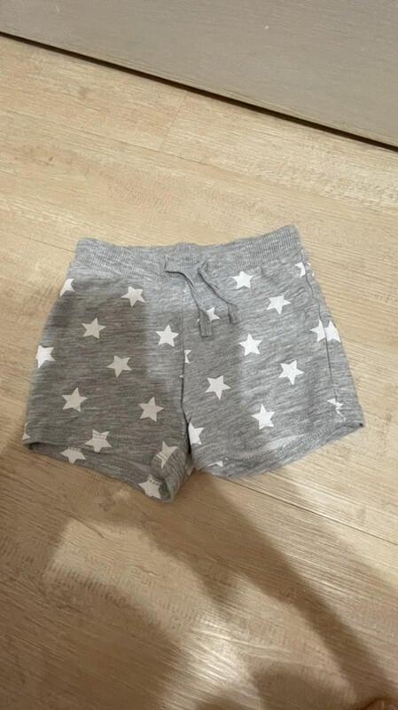 二手 H&M 嬰幼兒 兒童 短褲 6-9個月