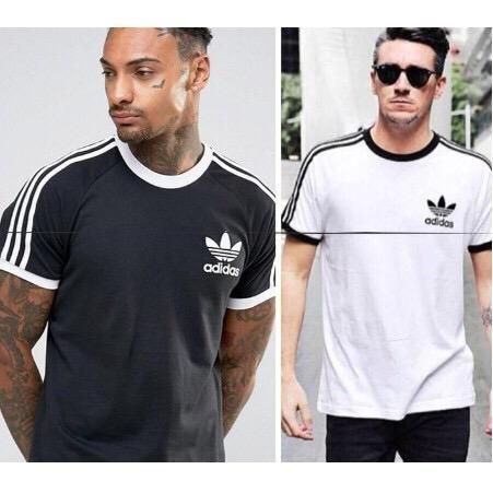 情侶款 三葉草 Adidas T恤 短袖衣服 寬鬆短袖 透氣舒適短袖T恤 男女 AZ8128
