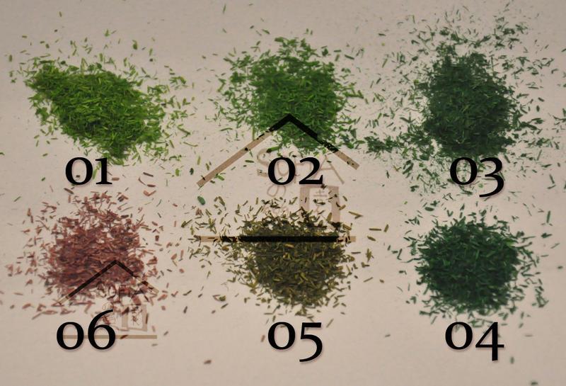 ◆SOFIAの樂園◆ 模型造景 高級仿真草粉 假青苔 小葉子 竹葉 - 共7色可選