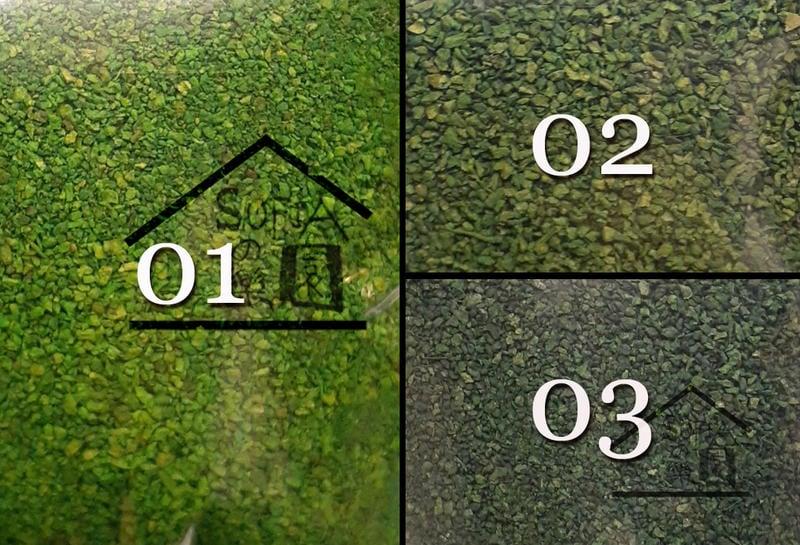 ◆SOFIAの樂園◆ 模型造景 高級仿真草粉 假青苔 小葉子 樹葉 - 共5色可選