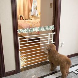 家用寵物欄桿隔離門防擋貓狗狗圍欄柵欄室內護欄狗籠子大中小型犬