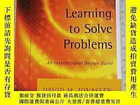 博民Learning罕見to Solve Problems An Instructional Design Guide