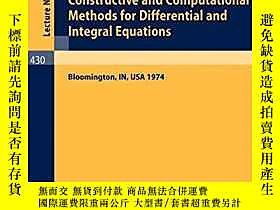 博民Constructive罕見and Computational Methods for Differential