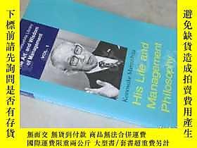 博民His罕見Life and Management Philosophy【36開 英文原版】露天16472 Kono