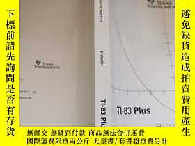 古文物TEXAS罕見INSTRUMENTS (TI-83 PLUS)露天223356