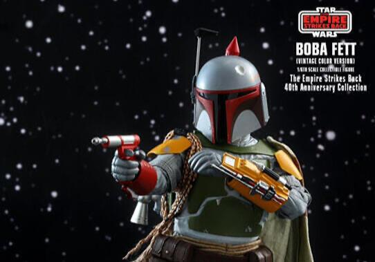Hot Toys MMS571 星際大戰V:帝國大反擊 波巴費特 復刻款 40周年紀念版
