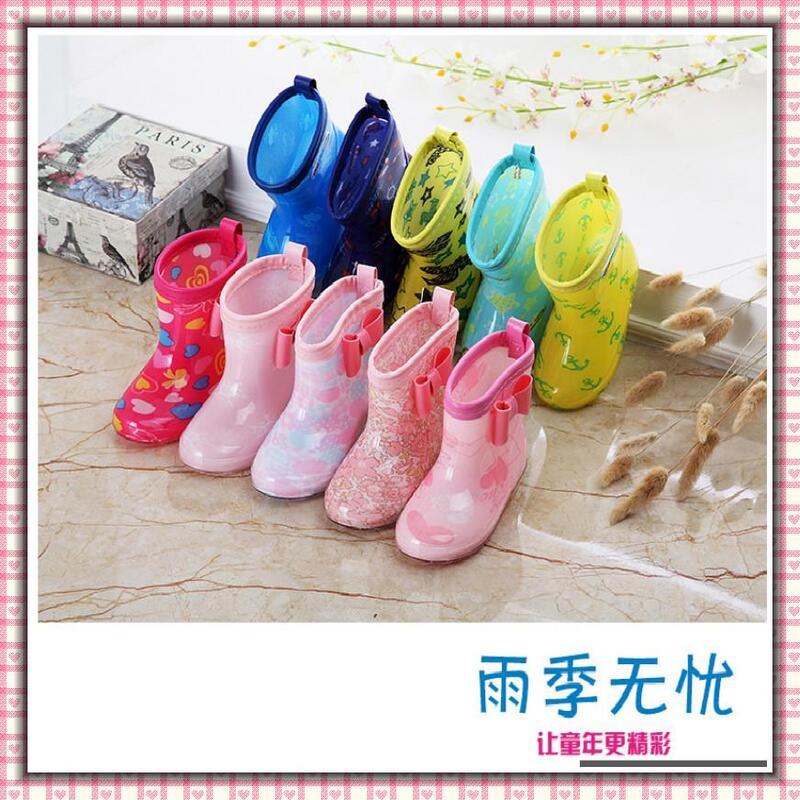 現貨 卡通兒童雨鞋 兒童雨鞋 雨靴 防滑雨靴 男童 女童 雨具 防水鞋套 雨鞋 防水相關用具 膠鞋 外貿童裝 高顔值