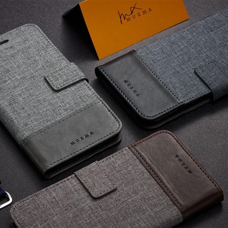 索尼 手機殼 防摔殼 保護套 1125牛仔布紋拼接索尼Xperia X皮套手
