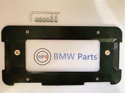 (BPS)BMW 後車牌轉接框  E36.E38.E39.E46.E60.E90.F10.X5 車牌架 大牌架 轉接架