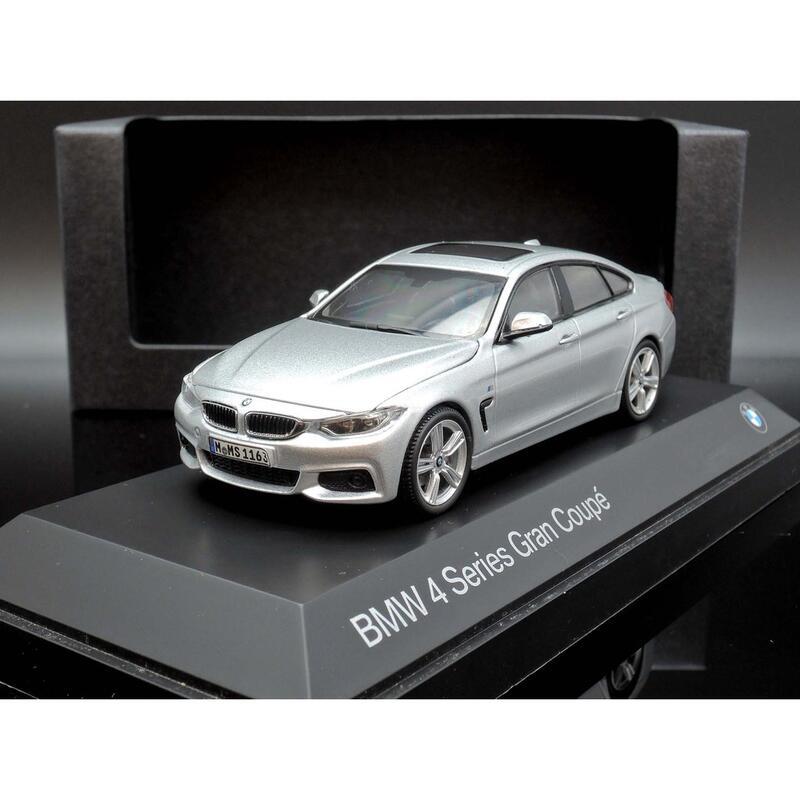 原廠 Kyosho 1/43 BMW 4er 4 Series F36 silver