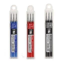 PILOT百樂 LFPKRF-30S4 極細按鍵式魔擦筆筆芯 0.4mm 3入 擦擦筆筆芯 LFPKRF-30S4-3