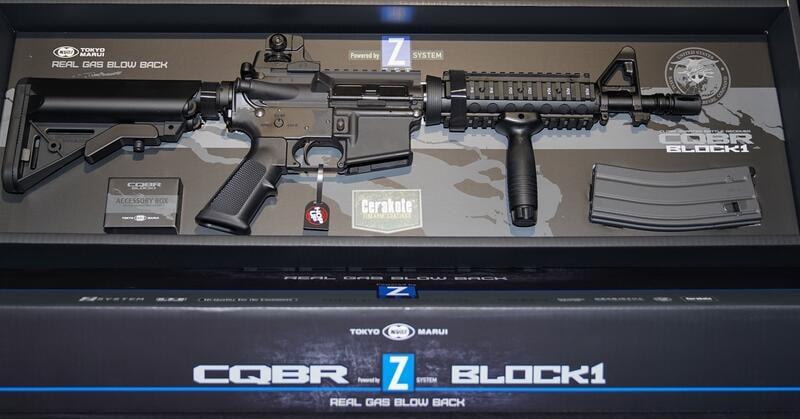 $Ordnance12 Marui CQBR GBB MK18 步槍 日本槍專賣(售完,可預購)