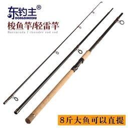 插節遠投竿3.6/3.9米并繼竿超硬路亞竿套裝鱸魚竿梭魚竿錨魚竿桿