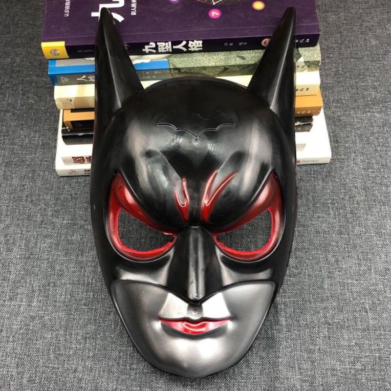 成人兒童萬圣節漫威面具頭套鋼鐵俠綠巨人美國隊長蝙蝠俠滅霸黑豹