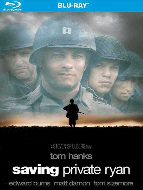 藍光[美] 搶救雷恩大兵 Saving Private Ryan (1998) 影史最強的戰爭史詩鉅作