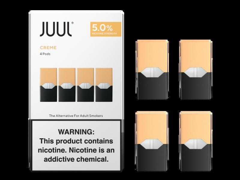 【蝦皮銷量第一】(5% 焦糖布蕾 Creme Brûlée) JUUL by DX Select 🔥商店街最低價🔥