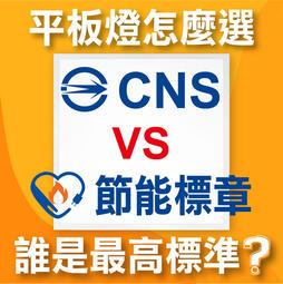 平板燈怎麼買?CNS和節能標章,誰才是國家最高標準