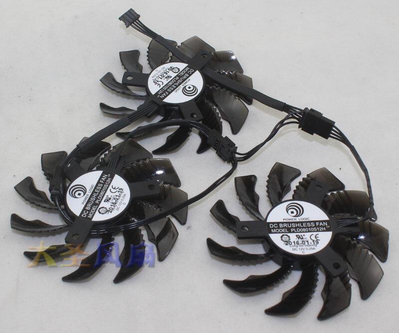 (全新正品 )技嘉GTX970\/980 1050 GTX1060 1070 1080顯卡風扇
