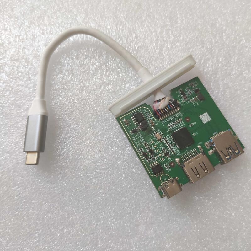 【優選精品】Type-C轉USB3.0HDMI轉換器蘋果MacBook matebook擴展塢EP9632G  露天拍賣