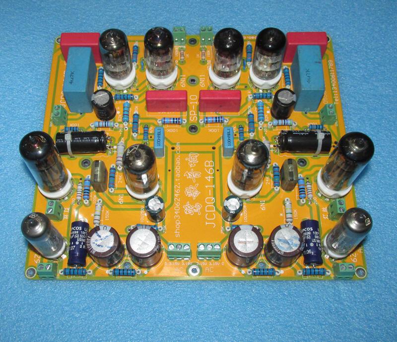 【新品快報】免運搶先買美國Audio Research SP-10 6DJ8(6N11)膽前級經典線路板JCDQ146B