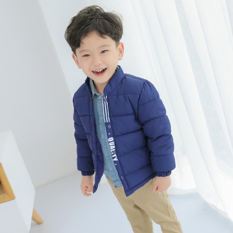 限時優惠8折 兒童羽絨外套 新款兒童羽絨棉服秋冬保暖內膽棉襖