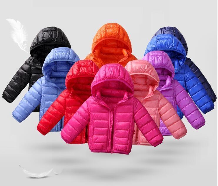 限時優惠8折 兒童羽絨外套 反季兒童羽絨棉服連帽羽絨服