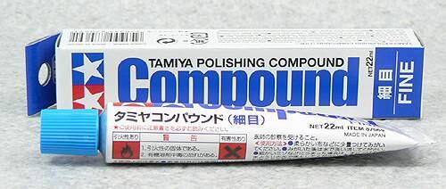 TAMIYA田宮 細目研磨劑 研磨膏 摩砂膏 22mL #87069