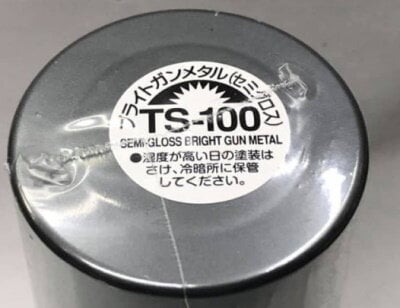 TAMIYA田宮 TS-100 半光澤槍鐵色噴漆