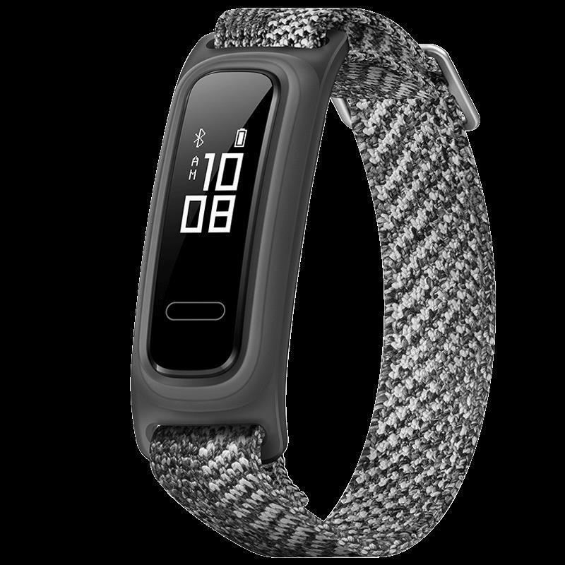 Huawei華為 華為手環4e籃球精靈 數據監測藍牙多功能運動 50米防水 跑姿指導兩周續航智能手環.-時光`小鋪SSS