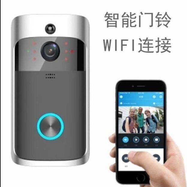 無線門鈴 可視電鈴 WIFI 雙向語音 監視器 WIFI 電鈴 門口機 對講機 720P人體感測 紅外線夜視 APP監看