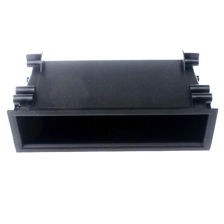 適用豐田汽車音響改裝儲物盒雜物盒置物盒2 DIN改1 DIN改單錠CD機