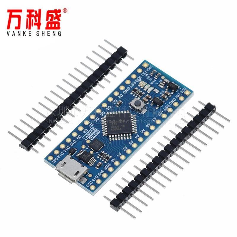 快速發貨 電子產品兼容 Arduino Nano Every 控制器 新版本Atmega4808 UPDI下載器