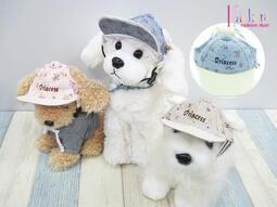 ☆[Hankaro]☆ 寵愛毛小孩小碎花繡字Princess遮陽帽(三種尺寸)