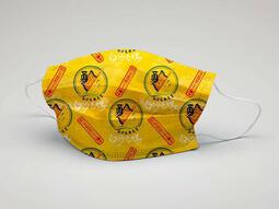 台灣製造 白沙屯媽祖官方授權系列口罩 每盒10片單片包裝成人防護口罩 ~買一送一~通過CNS檢測 採用可降解紙盒