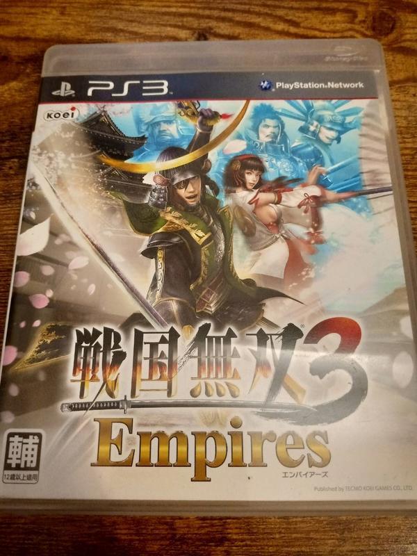 <安迪拍賣行>(PS3)(二手)  戰國無雙 3 Empires