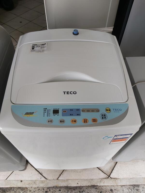 節能省電~二手中古東元10公斤洗衣機,型號W102UW,保固3個月,line帳號chin0290問