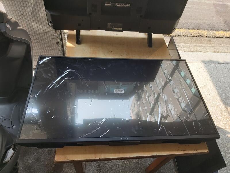 二手中古索尼Sony43吋4K電視,2018年,可連網,型號KD-43X7000F 保固3個月,看照問大戶藥師