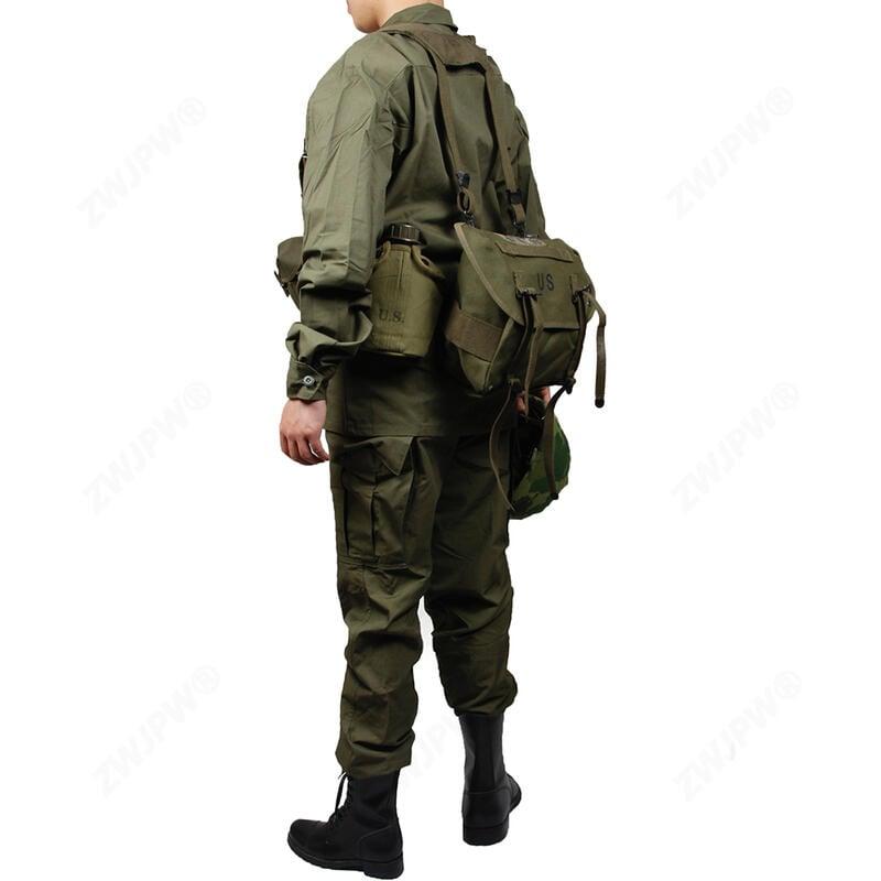 ☢軍品酷☢軍用越戰美軍TCU軍用三代服裝M16A1小包裝備組軍用M1961軍用M1956軍用戰爭重演軍用復軍用F3527